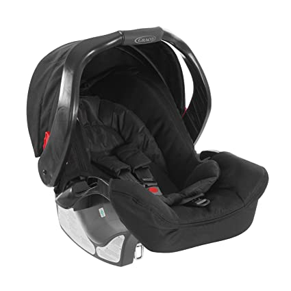 Graco Junior Baby Classic Connect, Silla de coche grupo 0+, negro ...