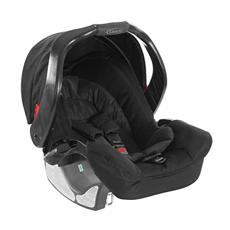 Graco Junior Baby Classic Connect, Silla de coche grupo 0+, negro