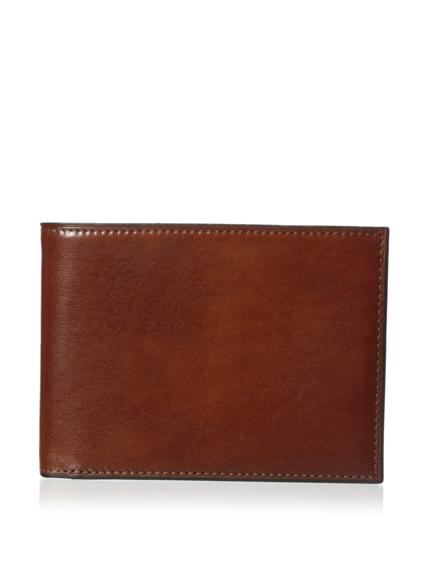 Old Leather Credit Wallet with I.D. Passcase