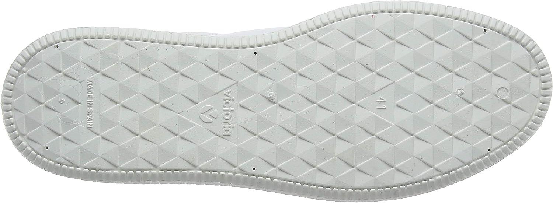 victoria Utopía Relieve Piel, Sneaker Donna Bianco
