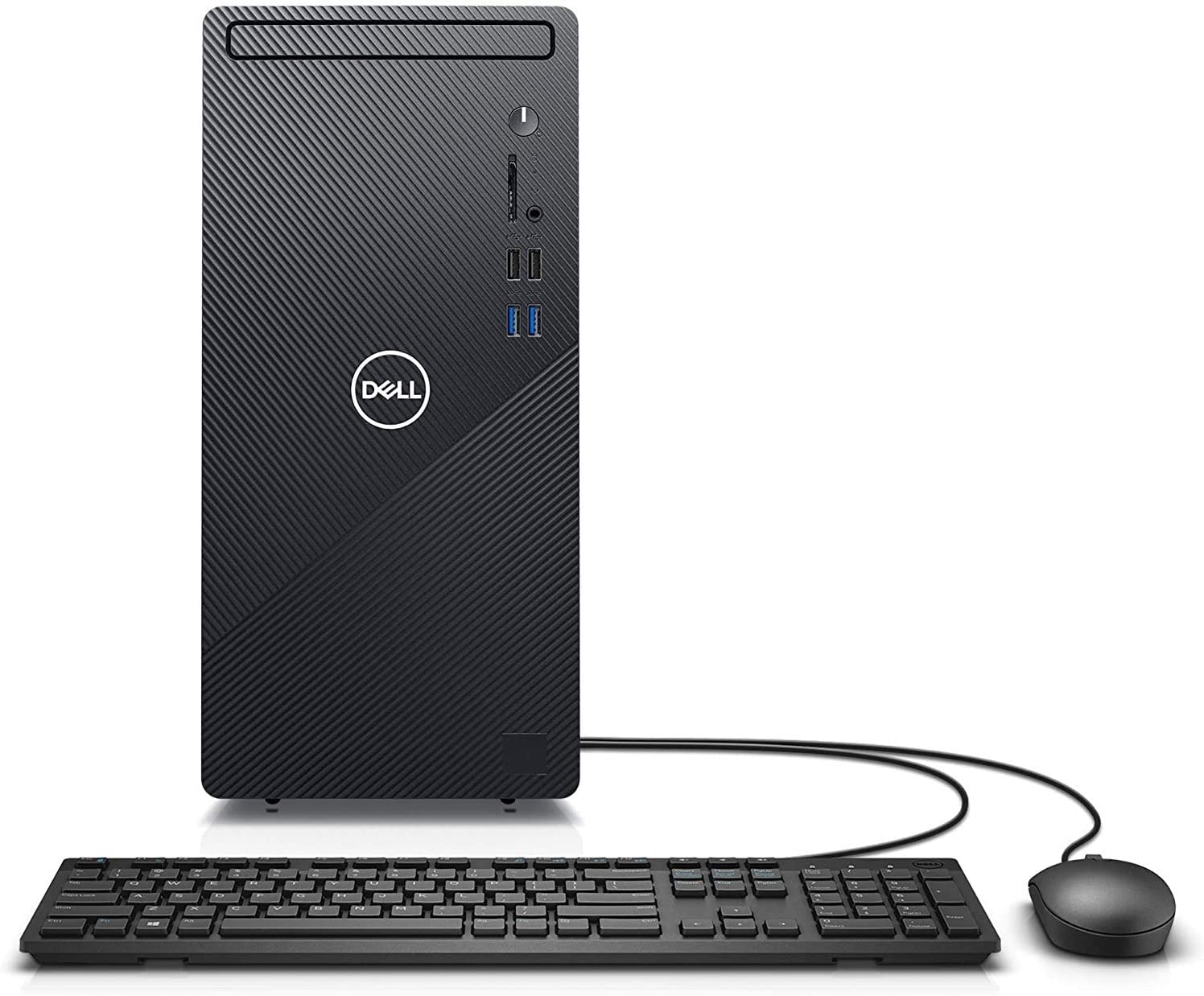 2021 Newest Dell Inspiron High Performance Desktop, Intel Core i5-10400, 12GB DDR4 Memory, 1TB HDD, WiFi, HDMI, Wired Keyboard&Mouse, Windows 10