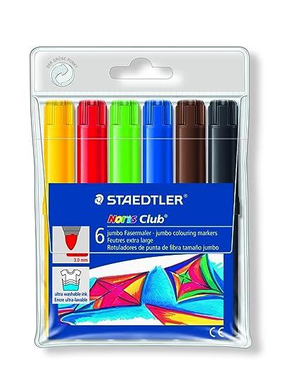 Staedtler Noris Club 340 WP6. Rotuladores de colores de ...