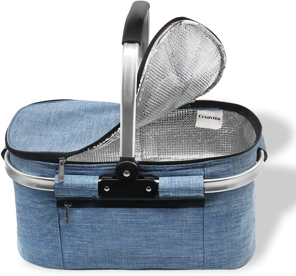 Details about  /Thermo Cooler Insulated Bag Outdoor Thermal Ice Pack Picnic Bag Tote Inclined