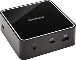 Kensington SD2400T Thunderbolt 3 Docking Station with 135W Adapter - Dual 4K for Windows and Mac - TAA Compliant (K38390NA)