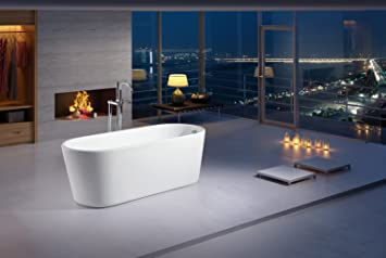 Designer Freistehende Badewanne Luxus Rolle Top Badezimmer ...
