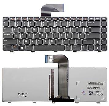 Nuevo US Layout Teclado retroiluminado para ordenador portátil Dell Inspiron 15 N5040 N5050 5520 3520 15R SE 7520 M411R M421R M5040 M521R Latitude 3330 luz ...