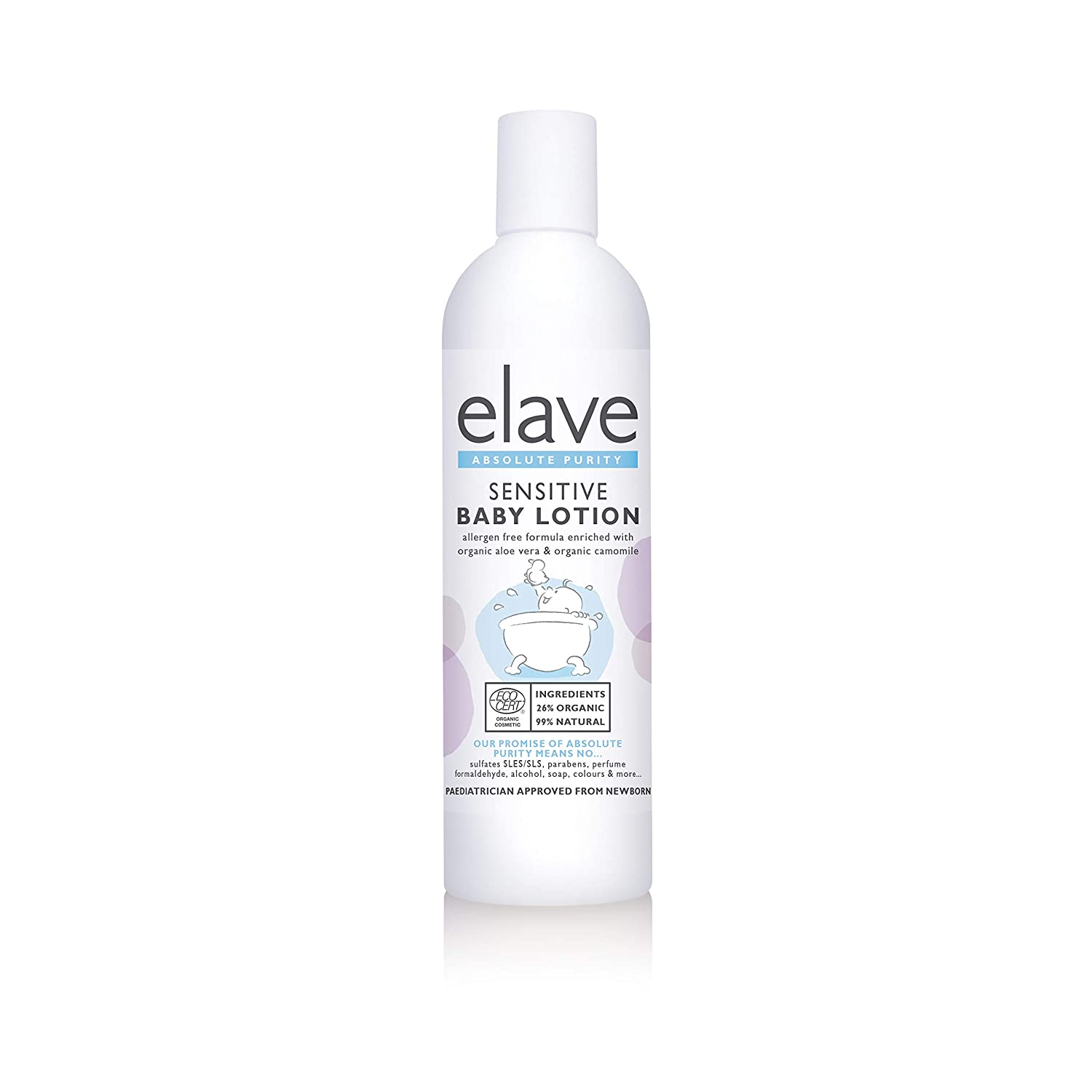 Elave Baby Lotion ECOCERT 250ml Ovelle Pharmaceuticals 1495