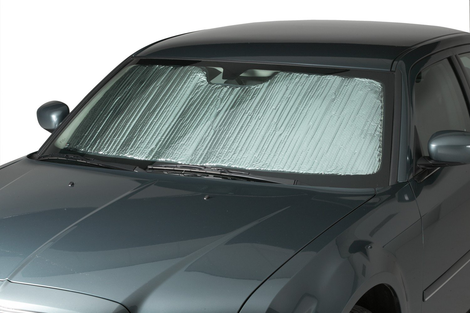 Covercraft Flex Shade Custom Fit Windshield Shade for Select Ford Edge Models UR11204 Silver Radiant Barrier Material