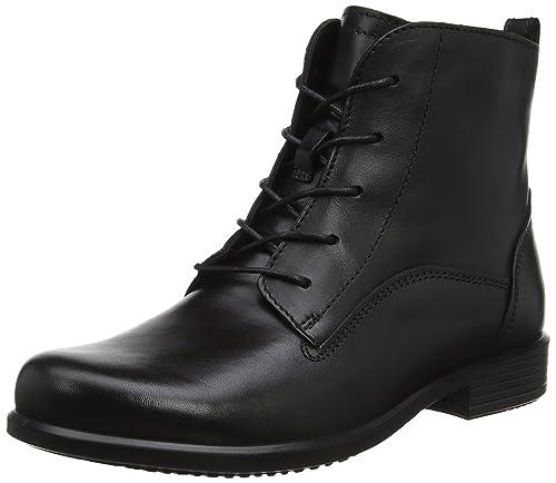 e6ad95e41 Ecco Ecco Touch 15 B - Zapatos con Cordones de Cuero Mujer  Amazon.es   Zapatos y complementos