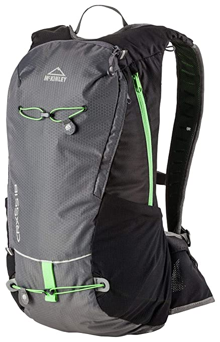 McKinley Función de mochila de 217292 Función de mochila, color negro, tamaño 18,