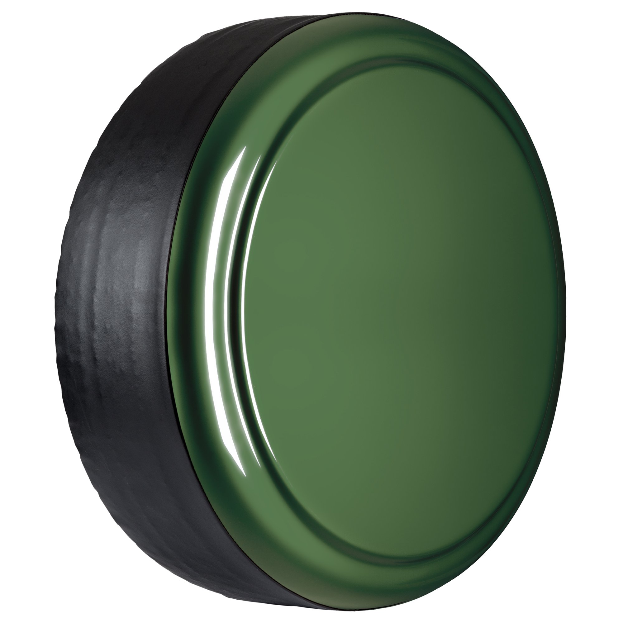 Jeep Wrangler JK - 29'' Color Matched MasterSeries Hard Tire Cover - Sarge Green by Boomerang (Image #2)