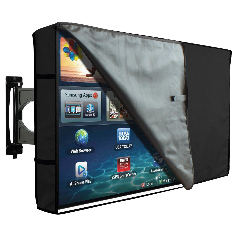 Outdoor TV Cover Universal Weatherproof Protector for 46/'/'  48/'/' TV Beige
