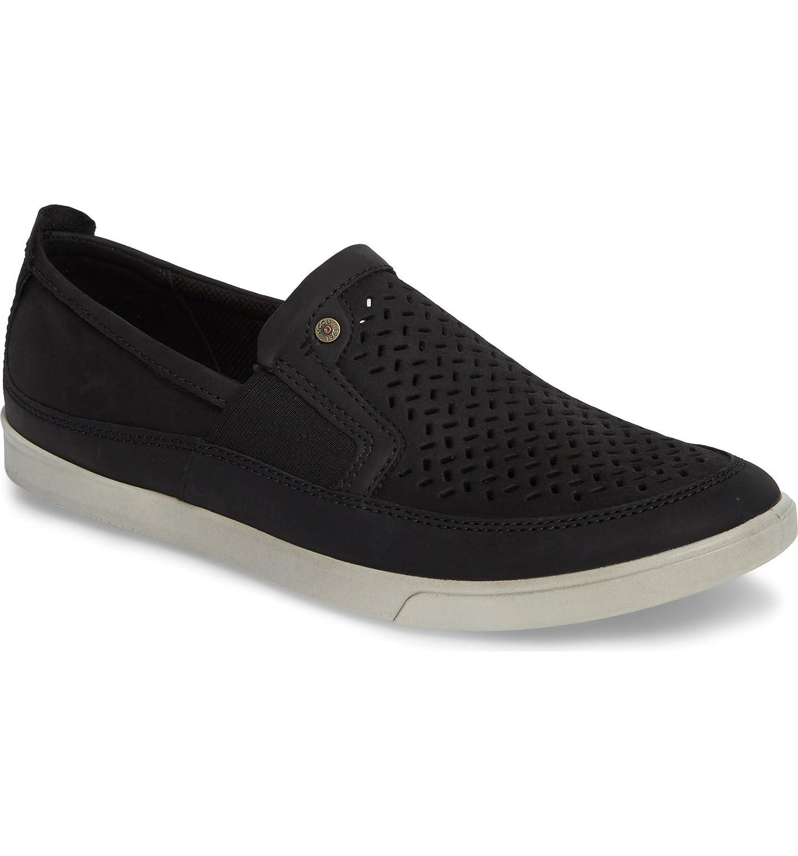[エコー] メンズ スニーカー ECCO 'Collin' Perforated Slip On Sneaker [並行輸入品] B07F2XRSCQ