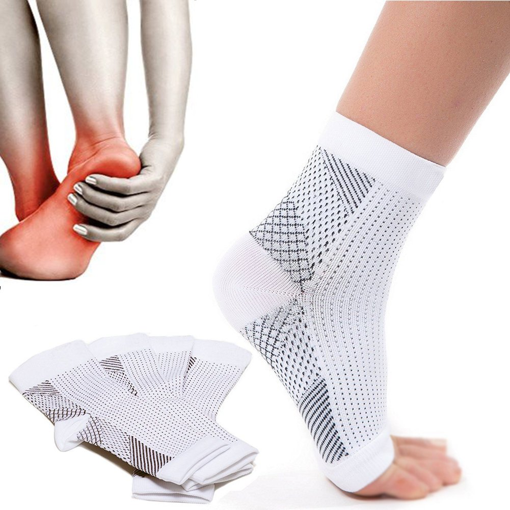Plantar Fasciitis Compression Socks -Increase Blood Circulation, Relieve Arch Pain, Reduce Foot Swelling(1 Pair)