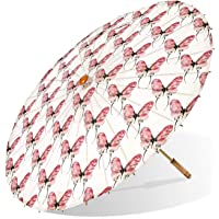 Lily-Lark Butterfly UV Protection Sun Parasol, Rated UPF 50+