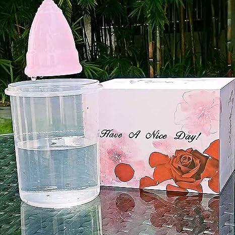 iCare nueva taza menstrual tampones sanitarios servilletas sanitarias de categorÃa médica caja de la