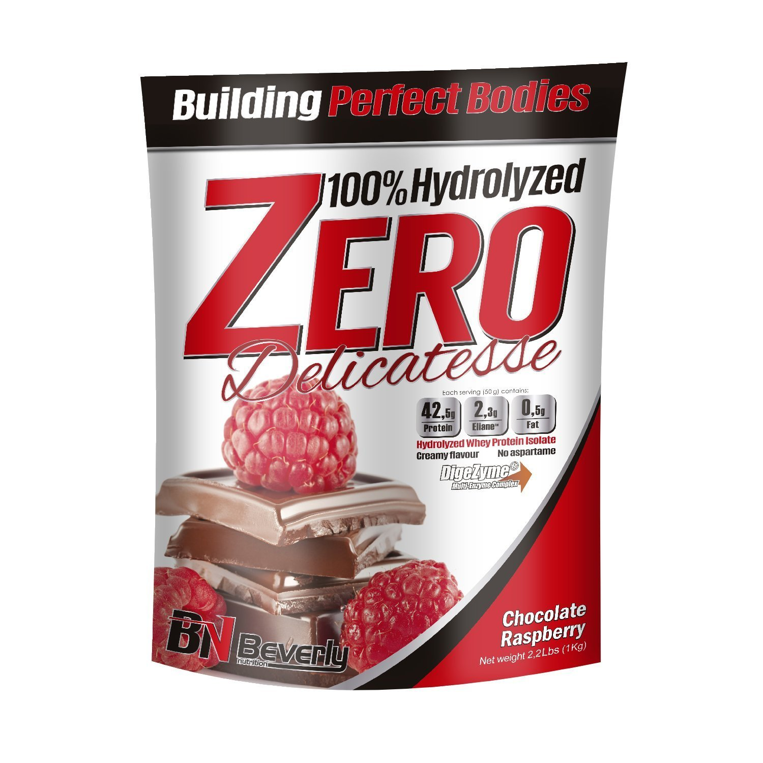 Beverly Nutrition For Absat40 Hydrolysed Whey Anabolic Protein Professional Muscle Growth Mass Gainer Chocolate Raspberry 1kg