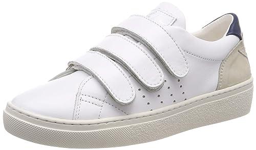 Pantofola dOro Anna Donne Velcro Low, Zapatillas para Mujer, Blanco (Bright