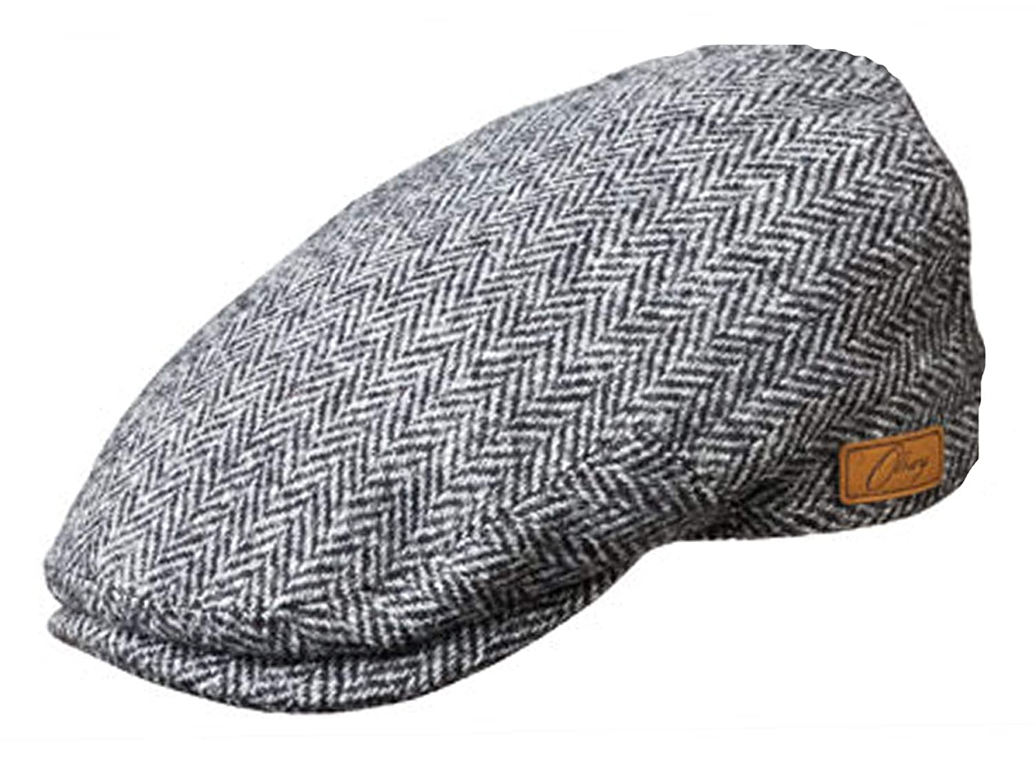 a80d1e5ee4d59 Olney York Wool Tweed Flat Cap at Amazon Men's Clothing store: