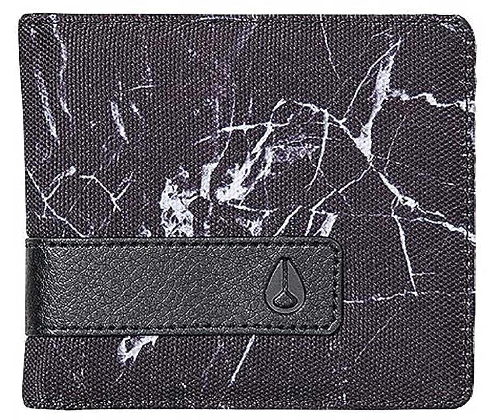 Nixon Men's Showoff Bi-fold Wallet Concrete One Size Fits All C0152101