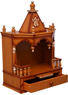 Wooden Temple/ Home Temple/ Pooja Mandir/ Pooja Mandap/ Temple For Home  JORD713G
