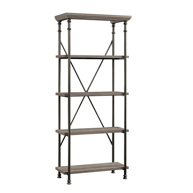 Sauder Canal Street 5-Shelf Bookcase, L 29.53 x W 15.51 x H 70.00 , Northern Oak finish