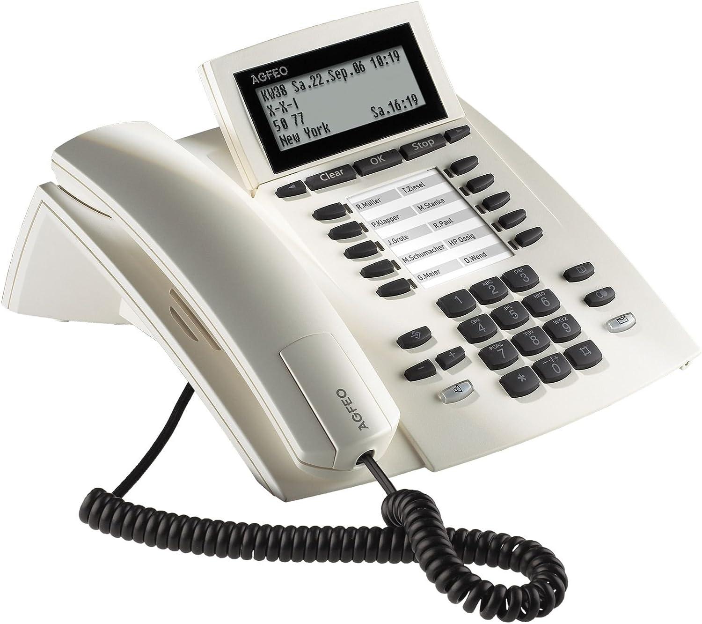 Mit I-So weiss Agfeo ST31 S0 Systemtelefon Digi F/ür Anl