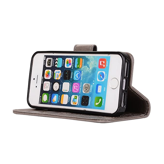 custodia pelle iphone 5