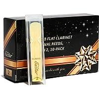 Eastar Cañas para clarinete sib tradicionales, Fuerza 2, Pack de 10