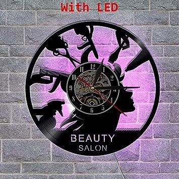 Éclairage Chats Horloge Vinyle Murale Les Led Hysxm J'aime Cd SqGzLUMVp