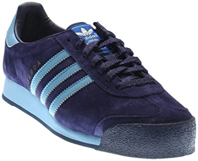 adidas Samoa Vintage Mens in Night Sky/Columbia Blue by, 8.5