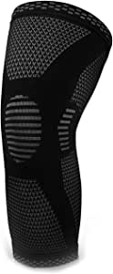 LIFEWAY Compression Knee Sleeve - Best Knee Brace for Men & Women - Knee Support for Jogging, Running, Crossfit, Basketball, Weightlifting, Gym, Workout, and All Other Sports - Brace for Joint Pain Relief, Arthritis and Injury Recovery - CHECK SIZING CHART for BEST FIT