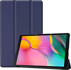 ProCase Galaxy Tab A 10.1 Case 2019 T510 T515 T517, Slim Light Cover Stand Hard Shell Folio Case for 10.1 Inch Galaxy Tab A 2019 Tablet SM-T510 SM-T515 SM-T517 -Navy