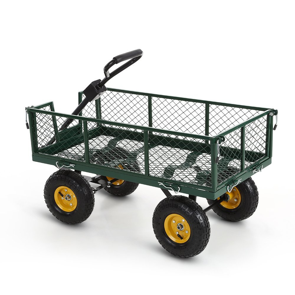 garden cart home depot. Ikayaa Garden Wagon Carts 660lbs Capacity Utility Steel With Removable Sides Amazoncom. Home Depot Cart U