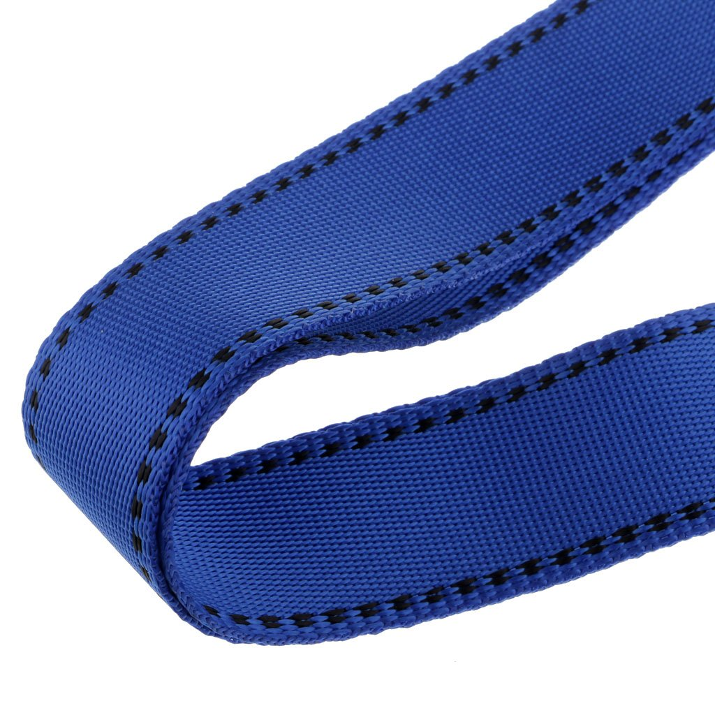 Baosity Adjustable Climbing Roofing Safety Harness Belt Lanyard for Fall Protection Rescue Service Blue by Baosity (Image #6)