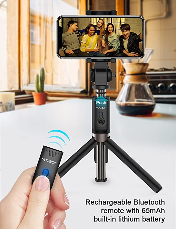 yoozon selfie stick - Bluetooth Capabilities