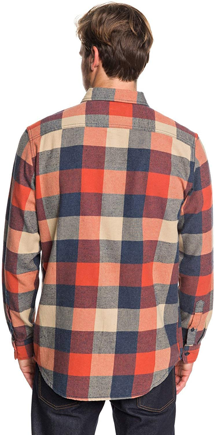 Quiksilver Mens Motherfly Flannel Woven Top