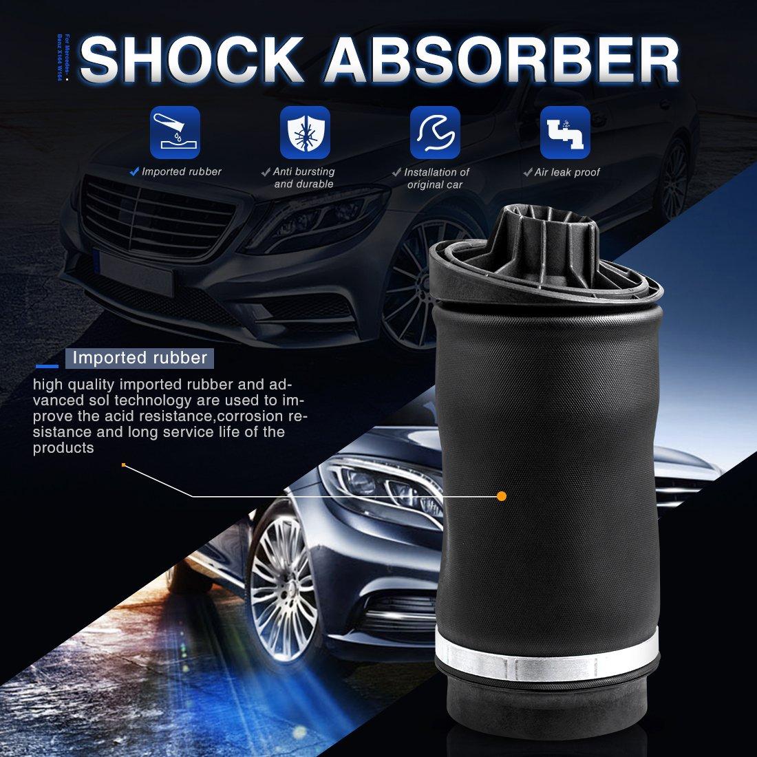 Rear Air Spring Bag Suspension for Mercedes-Benz: R320 2007-2009   R350  2006-2012   R500 2006-2007   R63 AMG 2007
