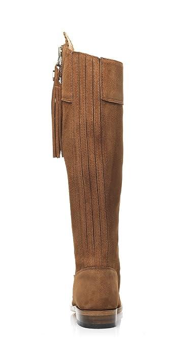 9e67265f60b FAIRFAX & FAVOR Womens Regina Boots Tan Suede: Amazon.co.uk: Shoes & Bags