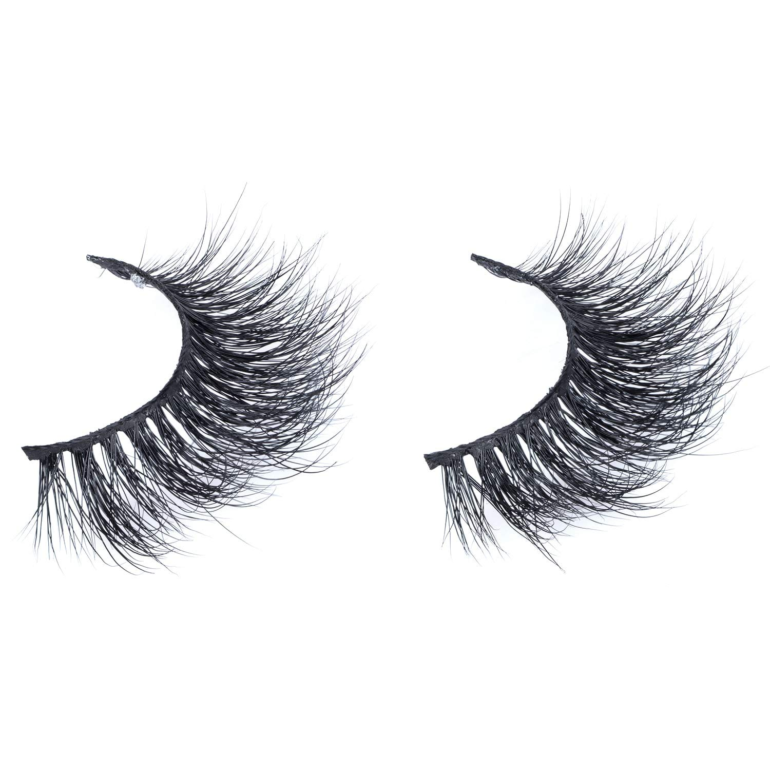 Arison Lashes 3D Mink Fur False Eyelashes Fake Lashes Women's Makeup Natural Soft Individual Long Hand-made 1 Pair Package (3D661)