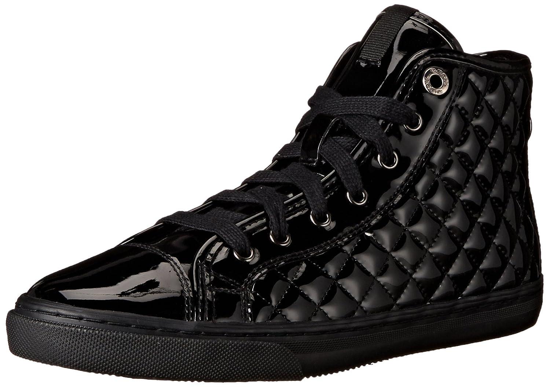 Geox D Giyo, Zapatillas Altas para Mujer 38 EU Negro (Black C9999)