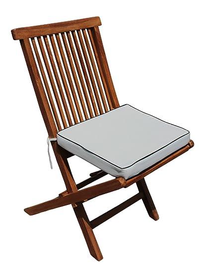 Amazon.com: Cojín para California sillas plegables de teca ...