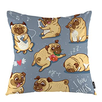 Amazon.com: Funda de almohada decorativa con diseño floral ...