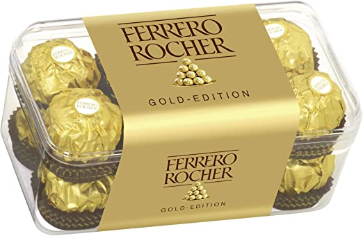 Oferta amazon: Ferrero Rocher 16 piezas 200g