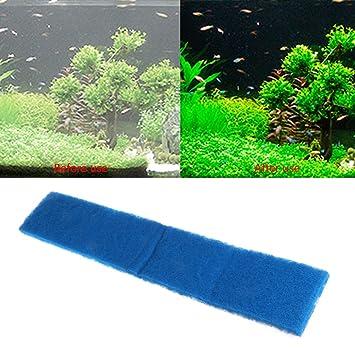 Dabixx Acuario Bioquímico Algodón Filtro Espuma Fish Tank Esponja Filtración Pad, esponja, negro, XY-1811: Amazon.es: Hogar