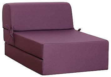 Canapes Telas Enjoy 1 sillón Plegable sofá-Cama, Tela ...