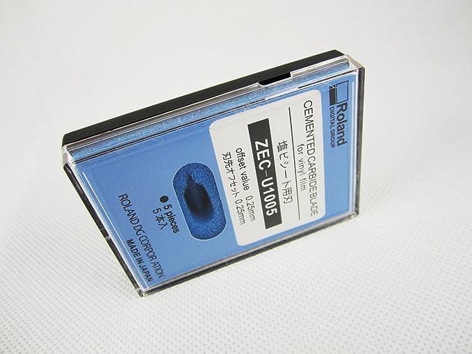 45 grados Roland Cuchillas zec-u1005 para cortador de vinilo Plotter SP/XC/VP 5pcs/una caja: Amazon.es: Juguetes y juegos