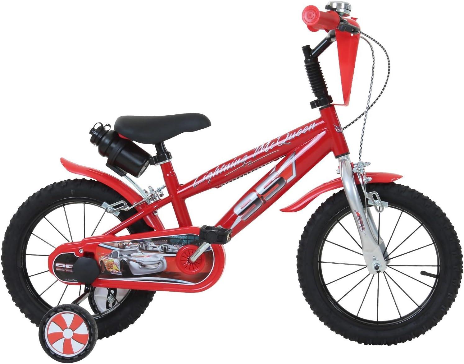14 pulgadas Disney Cars – Bicicleta infantil: Amazon.es: Deportes y aire libre