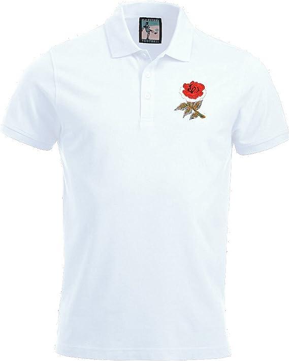 Old School Football England National Rugby Polo Tallas S – XXXL ...
