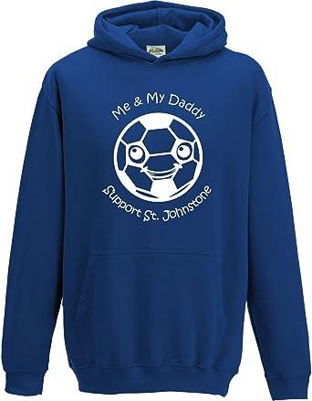 Hat-Trick Designs Bristol City Football Baby//Kids//Childrens Hoodie Sweatshirt-Red-Me /& My-Unisex Gift